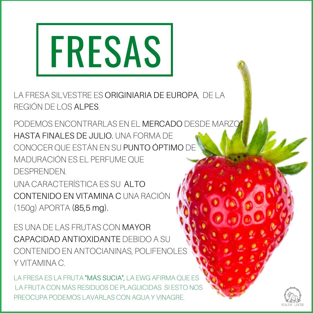 Fresa-blog de nutricion