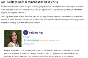 mejor psicólogo valencia