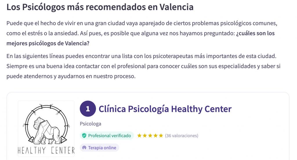 mejor psicologo de valencia